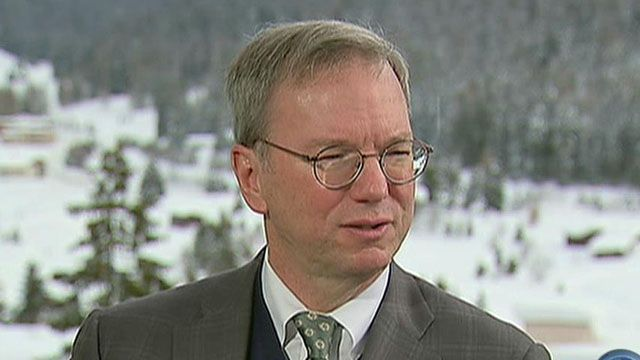 Google executive chairman Eric Schmidt on the government's investigation into its privacy policies and push for legislation on intellectual property on the Internet.