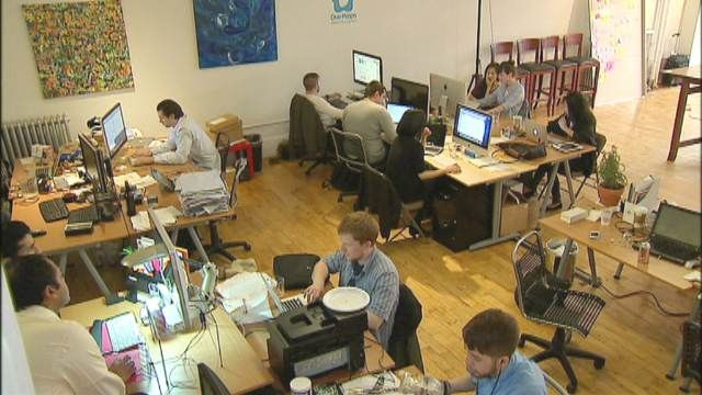 FOXBusiness.com's Kathryn Glass on the growth of coworking spaces in the tech sector.
