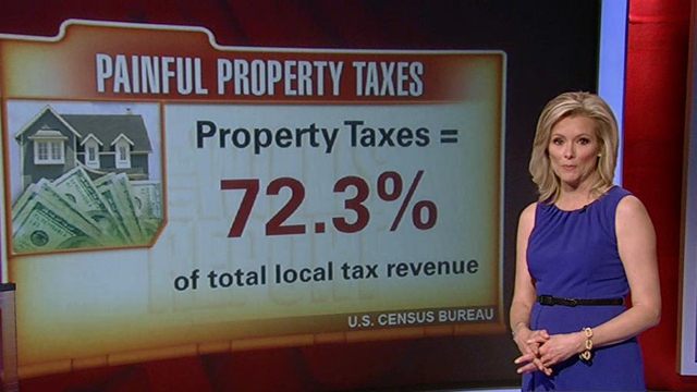 FBN's Gerri Willis on the higher property taxes facing homeowners across the country.