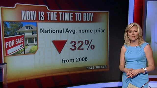 FBN's Gerri Willis argues now is the time to buy a home while the prices are low.