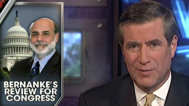 FBN's Peter Barnes on Ben Bernanke's testimony today, in which he said QE3 would be available if needed for the economy.