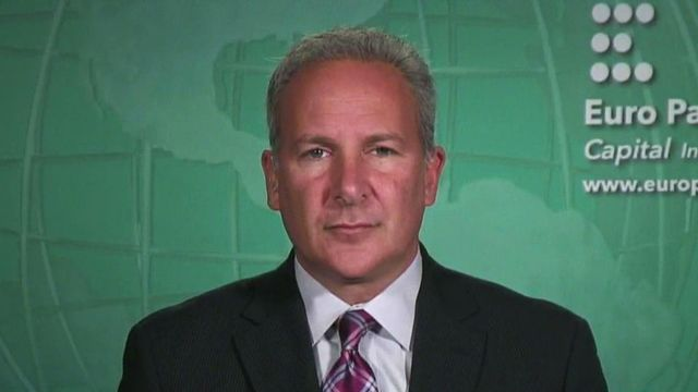 Euro Pacific Capital's Peter Schiff on the economy's outlook and its impact on corporate earnings.