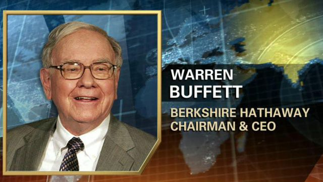 FBN's Liz Claman on Warren Buffett's reaction to S&P lowering Berkshire Hathaway's  outlook to negative from stable.