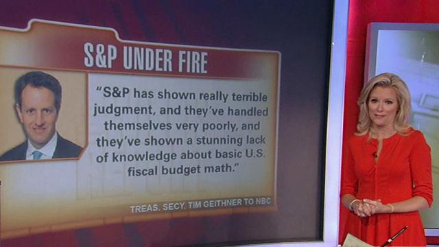 FBN's Gerri Willis on concerns over S&P's credibility since its downgrade of the U.S. credit rating.