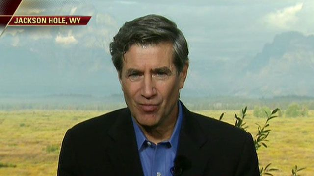 FBN's Peter Barnes reviews the speech by Fed Chairman Ben Bernanke at the Jackson Hole Economic Conference.