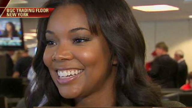 Actress Gabrielle Union on her charity work at CBG Partners.