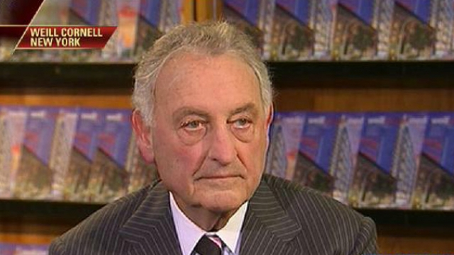 Former Citigroup CEO Sandy Weill on his philanthropic efforts and the state of Wall Street.