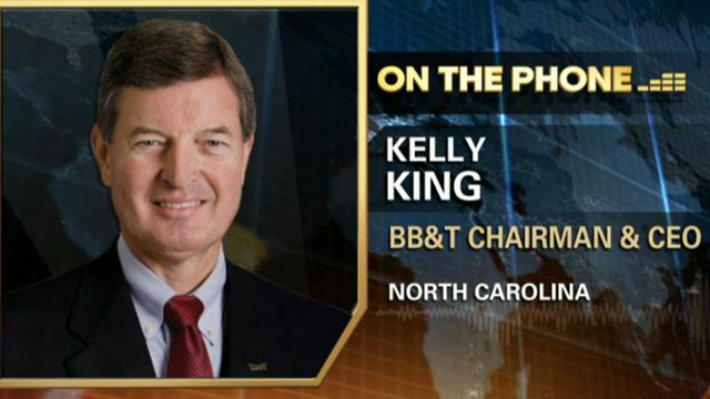 BB&T Chairman and CEO Kelly King weighs in on the bank's acquisition of Bank Atlantic and why now was the right time to make this move.