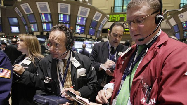 Stocks gain on strong jobs, economic data