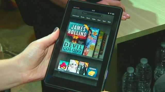 Amazon claims at least one million Kindle sales per week