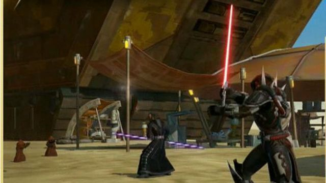 """Electronic Arts Labels President Frank Gibeau on the big buzz over the """"Star Wars: The Old Republic'"""" video game."""