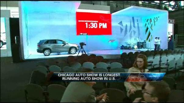 Behind the Scenes at the Chicago Auto Show