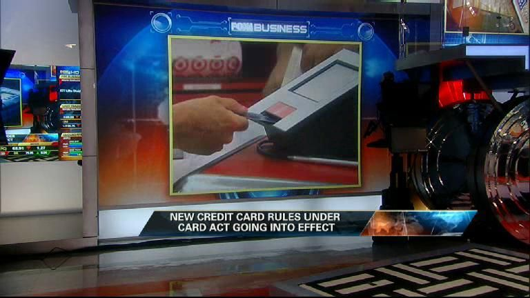 New Rules on Credit Cards Take Effect