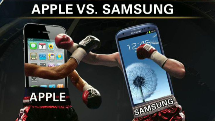 Apple and Samsung Face Off in Patent Dispute