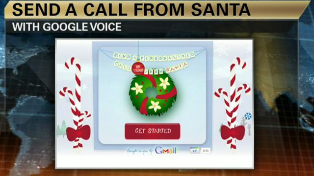 Google Helps You Get in Touch With Santa